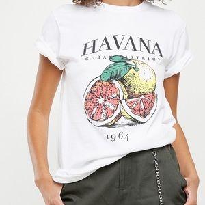 NWT Missguided Havana Jersey T-Shirt